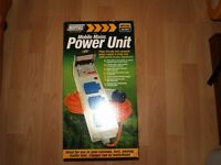 230v Maypole Triple Camping Mobile Mains Hook Up Power Unit MP3765