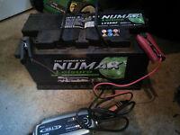 Numax 90Ah Leisure Battery LV25MF Suitable for campervan caravan motorhome