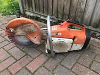STIHL TS400 PETROL DISC CUTTER SERVICED NEW PARTS