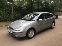 FORD FOCUS GHIA 2005 1.8 5 DOOR 1 OWNER FROM NEW 90k