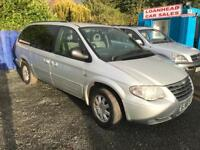 DIESEL-AUTOMATIC 7 SEATER CHRYSLER GRAND VOYAGER 12 MONTHS MOT SERVICE HISTORY