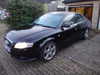 very rare audi a4 3.0TDI s line with light grey interior OPEN FOR OFFERS