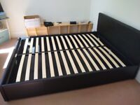 Double bed frame ex condition