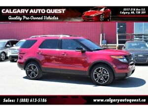 2015 Ford Explorer Sport 4X4/NAVI/B.CAM/LEATHER/3RD ROW
