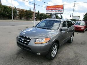 2009 Hyundai Santa Fe LIMITED,LEATHER,SUNROOF