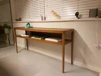 Mid century modern sideboard table ikea stockholm range Designed by Ehlen Johnston