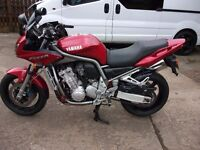 yamaha fazer fzs 1000 one owner from new low milage