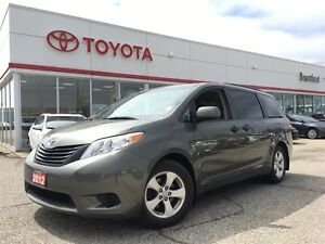 2012 Toyota Sienna Carproof Clean, Local Trade In, Certified