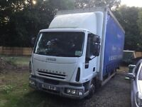 2005 Eurocargo 75e18 Curtainsider....Sell Or Part Exchange For A Tilt & Slide Recovery Lorry