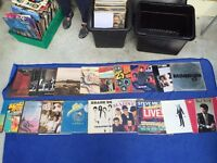 18 x 60's to 80's Rock and Pop Records Vinyl (£20 or Offers)