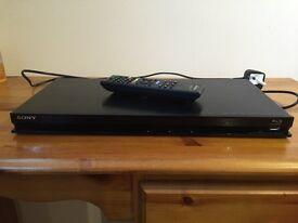 Sony DVD player including Blu Ray