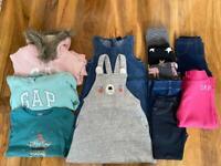 Bundle of clothes for girl 2-3 yo (98 cm)