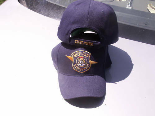 Michigan State Police Fatigue Cap, 30% Wool, NEW to Spec.