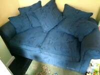 *FREE* Blue Sofa Bed (frame type)