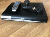 Sky+hd box with remote (500Gb space) fully working