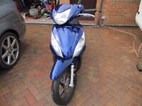Honda vision 110 scooter one owner low mileage