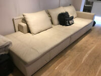 Bo Concept Sofa 6 Seater Genuine Leather