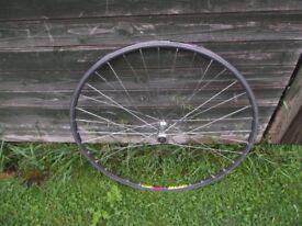 Vintage Racing Bike 700c Front Wheel Mavic / Shimano 600 Tri-color