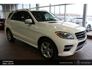 2015 Mercedes-Benz M-Class ML350BT 4MATIC, toit ouvrant, Xénon,