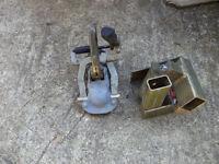 Westfalia caravan friction damper and anti theft lock