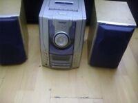 bush micro stereo radio cd tape
