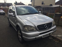 MERCEDES ML270 CDI DIESEL AUTO PARTS BREAKING FOR SPARES