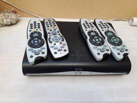 SKY HD box and remote controls