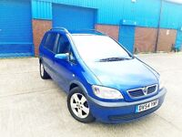 Vauxhall zafira ** 7 Seater ** Immaculate Contion ** MOT'D ** 2 Keys ** Bargin Price