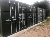 Secure, secluded and safe dry container storage