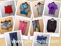 WOMENS SIZE 10 CASUAL CLOTHES BUNDLE - 10 ITEMS