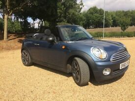 MINI ONE 1.6 CONVERTIBLE WITH PEPPER PACK..FULL MOT..SERVICE HISTORY..NICE COLOUR