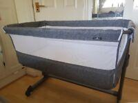 Grey Babylo next to me crib