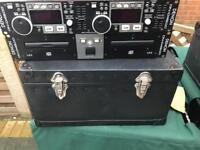 Denon dn-4500 twin CD players Dj Disco