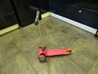 Mini Micro Scooter, pink