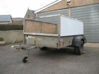 ifor william p6 6x4 high sided trailer