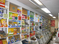 Complete Shop fixtures and fittings for sale.