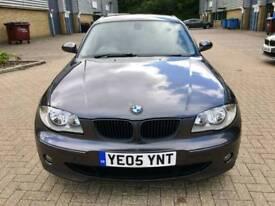 BMW 1SERIES 118i SPORTS 2.0 PETROL MANUAL 2005