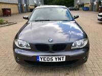 BMW 1SERIES 118i SPORTS 2.0 PETROL MANUAL 2005