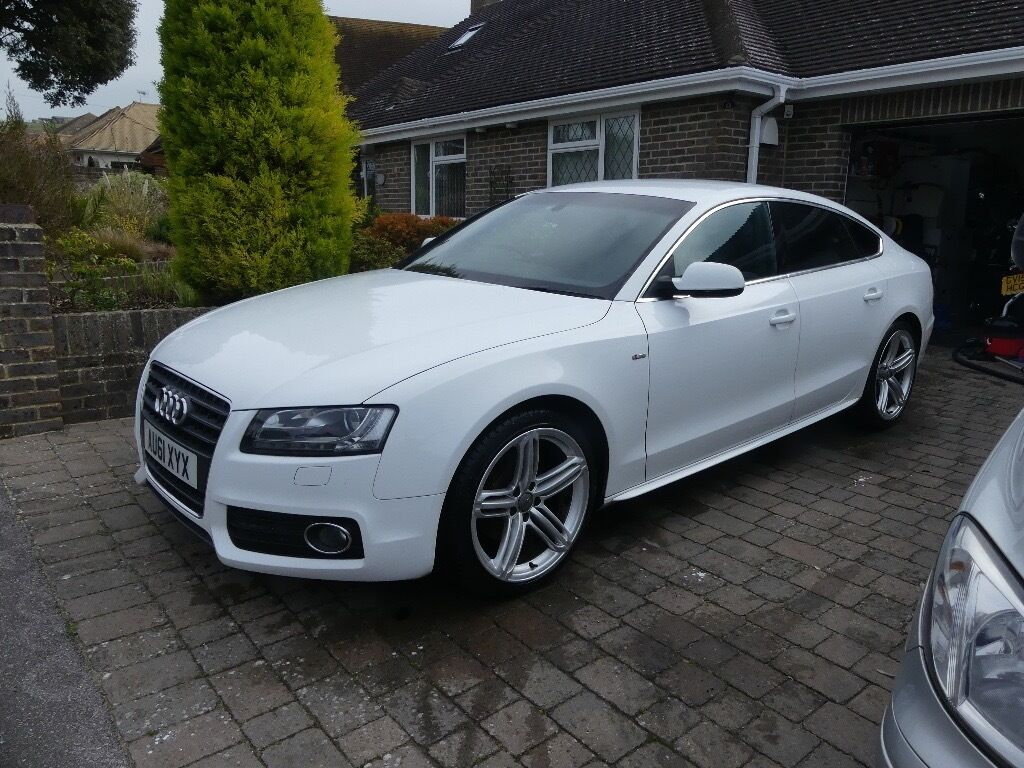 audi a5 2 0 tfsi s line sportback 5dr heated seats bang and olusen speakers low mileage fsh. Black Bedroom Furniture Sets. Home Design Ideas