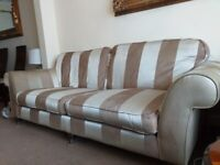 DFS Sofa set 4 seater 2 arm chairs
