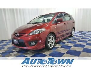 2008 Mazda Mazda5 GS/SUNROOF/BLUETOOTH/3RD ROW SEATING
