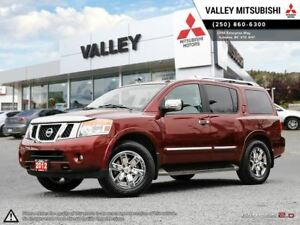 2012 Nissan Armada Platinum Edition (A5) - DVD, LEATHER, NAV