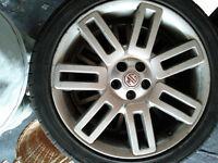 4 mgzt alloy wheels