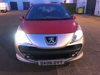 Peugeot 207 HDI diesel only £30 Road tax for whole year