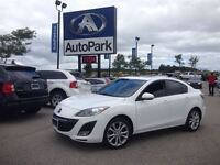 2010 Mazda MAZDA3 6 SPEED GT 2.5L/ HEATED LEATHER/ SUNROOF!