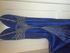 Blue PROM dress (paid $700 in store)