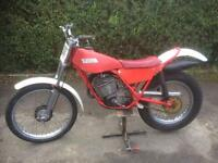 Fantic 125cc twin shock trials bike