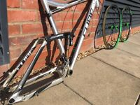 2015 Cube Stereo 160 HPA Frame (inc shock, front derailleur and DT Swiss wheelset)