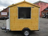 Huge Saving from £15,500 Cost New Ex Demo Shed Style Snack Van, Catering Trailer, Burger van