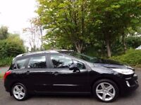 (2009) PEUGEOT 308 SW 1.6 HDi SPORT 1 OWNER/FULL PEUGEOT HISTORY/PANORAMIC GLASS ROOF/CRUISE CONTROL